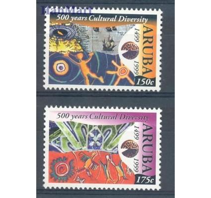 Znaczek Aruba 1999 Mi 240-241 Czyste **