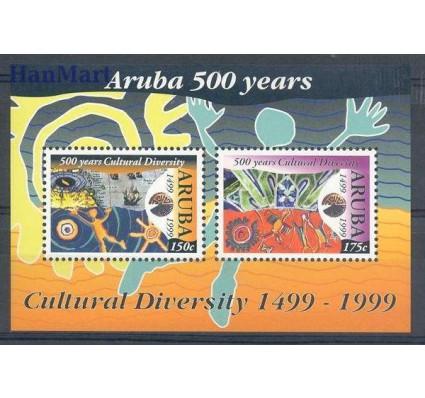 Znaczek Aruba 1999 Mi bl 2 Czyste **