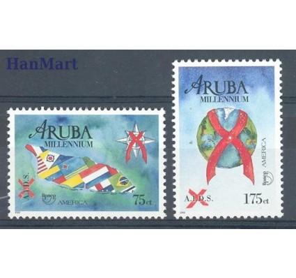 Znaczek Aruba 2000 Mi 254-255 Czyste **