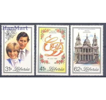 Znaczek Liberia 1981 Mi 1215-1217 Czyste **