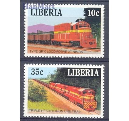 Znaczek Liberia 1988 Mi 1414-1415 Czyste **