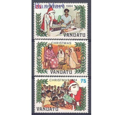 Znaczek Vanuatu 1984 Mi 686-688 Czyste **