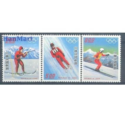 Znaczek Tajwan 1976 Mi 1121-1123 Czyste **