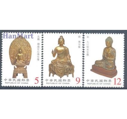 Znaczek Tajwan 2001 Mi 2666-2668 Czyste **