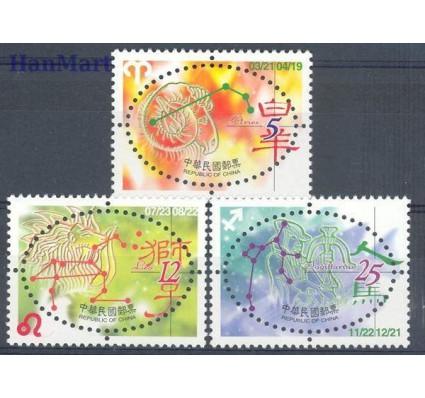 Tajwan 2001 Mi 2680-2682 Czyste **