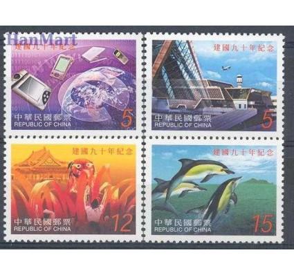 Znaczek Tajwan 2001 Mi 2700-2703 Czyste **