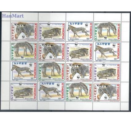 Znaczek Etiopia 2000 Mi 1704-1707 Czyste **