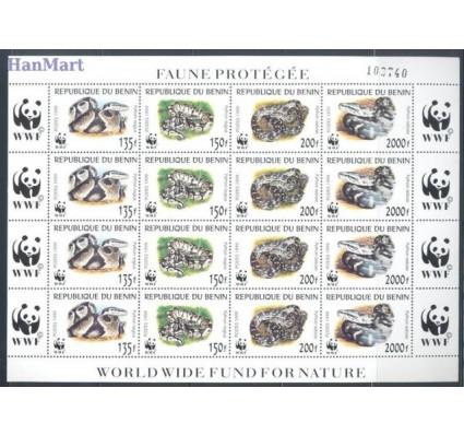 Znaczek Benin 1999 Mi 1159-1162 Czyste **