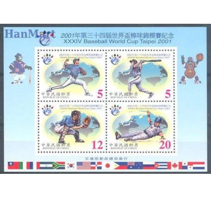 Tajwan 2001 Mi bl 88 Czyste **