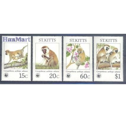 Saint Kitts 1986 Mi 184-187 Czyste **