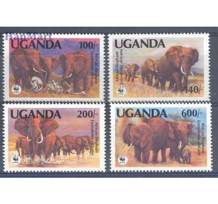 Znaczek Uganda 1991 Mi 960-963 Czyste **