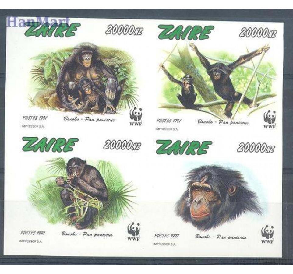 Kongo Kinszasa / Zair 1997 Czyste **