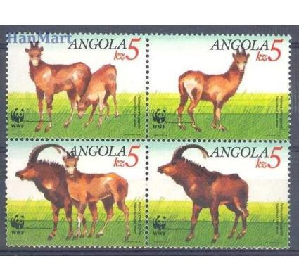 Znaczek Angola 1990 Mi 799-802 Czyste **