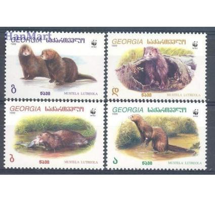 Znaczek Gruzja 1999 Mi 308-311 Czyste **
