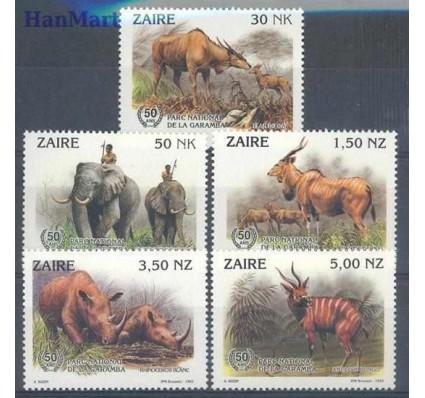Kongo Kinszasa / Zair 1993 Mi 1079-1083 Czyste **