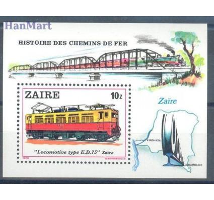 Kongo Kinszasa / Zair 1980 Mi bl 31 Czyste **
