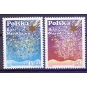 Polska 2008 Mi 4401-4402 Fi 4252-4253 Czyste **