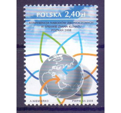 Polska 2008 Mi 4405 Fi 4255 Czyste **