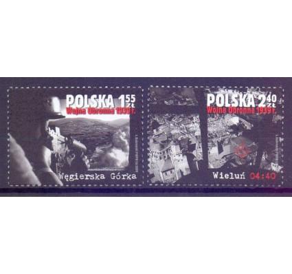 Znaczek Polska 2009 Mi 4445-4446 Fi 4295-4296 Czyste **