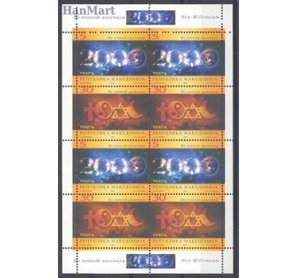 Znaczek Macedonia 2000 Mi 187-188 Czyste **