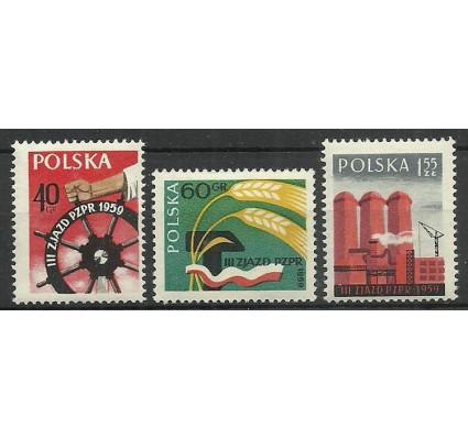 Polska 1959 Mi 1090-1092 Fi 945-947 Czyste **