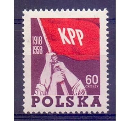 Polska 1958 Mi 1079 Fi 940 Czyste **