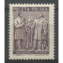 Polska 1949 Mi 543 Fi 508 Czyste **