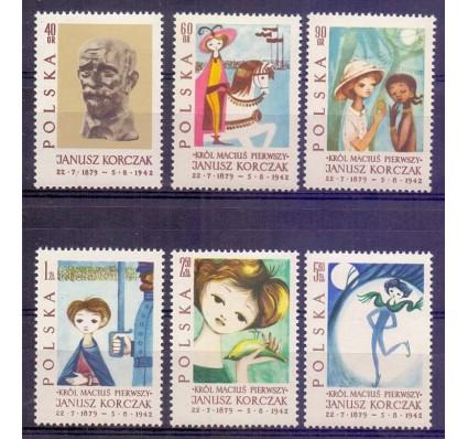 Polska 1962 Mi 1357-1362 Fi 1209-1214 Czyste **