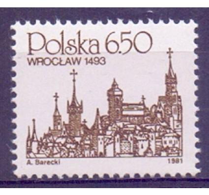 Znaczek Polska 1981 Mi 2737 Fi 2592 Czyste **