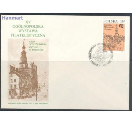 Polska 1987 Mi 3105 Fi 2957 FDC