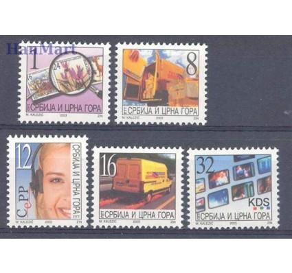 Jugosławia 2003 Mi 3133-3137 Czyste **