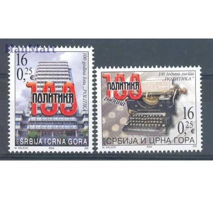Serbia i Czarnogóra 2004 Mi 3171-3172 Czyste **