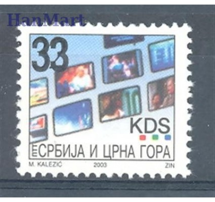 Znaczek Serbia i Czarnogóra 2005 Mi 3238 Czyste **