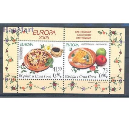 Znaczek Serbia i Czarnogóra 2005 Mi bl 61 Czyste **