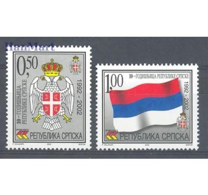 Republika Serbska 2002 Mi 230-231 Czyste **