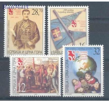 Znaczek Serbia i Czarnogóra 2004 Mi 3183-3186 Czyste **