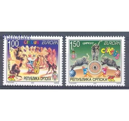 Republika Serbska 2002 Mi 241-242A Czyste **
