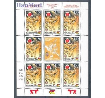 Republika Serbska 2001 Mi ark 211 Czyste **