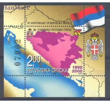 Republika Serbska 2002 Mi bl 5 Czyste **