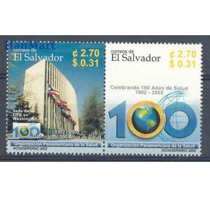 Znaczek Salwador 2002 Mi 2290-2291 Czyste **