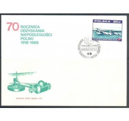 Znaczek Polska 1988 Mi 3164 Fi 3019 FDC