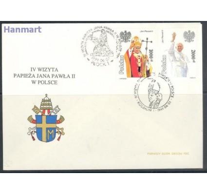 Znaczek Polska 1991 Mi 3334-3335 Fi 3186-3187 FDC