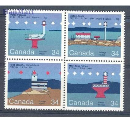 Kanada 1985 Mi 972-975 Czyste **