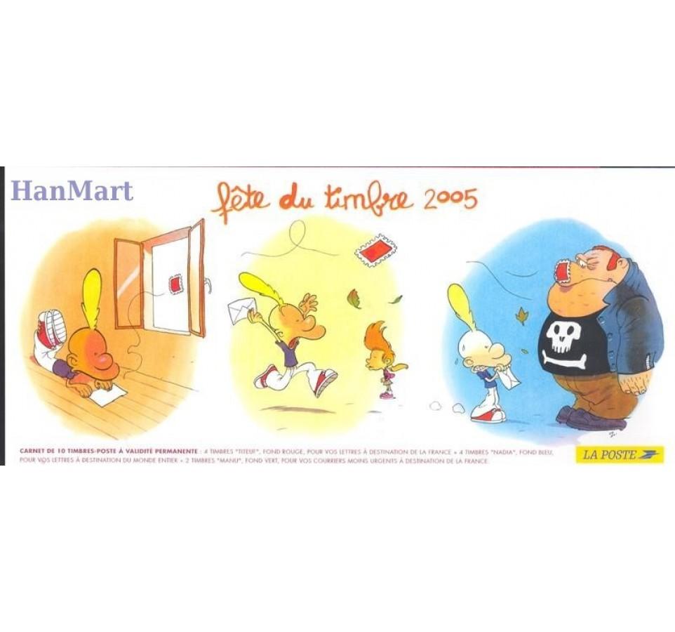Francja 2005 Mi mh 65 Czyste **
