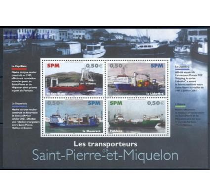 Saint-Pierre i Miquelon 2004 Mi bl 7 Czyste **