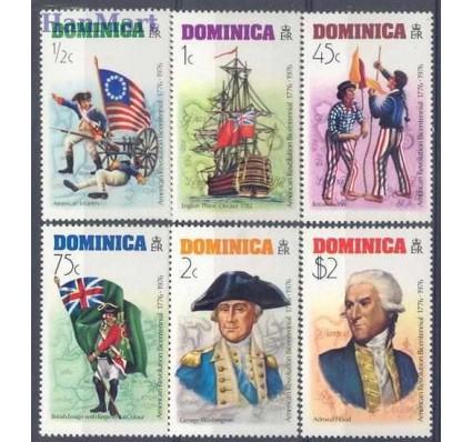 Znaczek Dominika 1976 Mi 475-480 Czyste **
