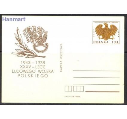 Znaczek Polska 1978 Fi Cp 710 Całostka pocztowa