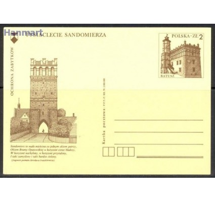 Znaczek Polska 1979 Fi Cp 743 Całostka pocztowa
