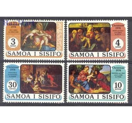 Samoa i Sisifo 1974 Mi 306-309 Czyste **