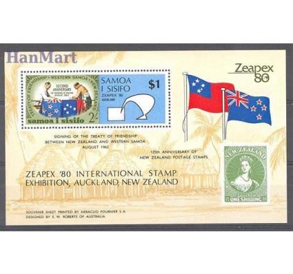 Samoa 1980 Mi bl 22 Czyste **